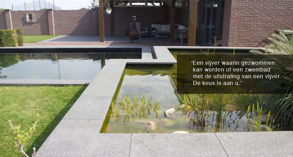 Waterpartijen hoveniersbedrijf john klaassen compleet for Moderne waterpartijen tuin