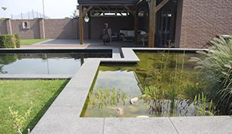 Houten terrassen hoveniersbedrijf john klaassen compleet voor